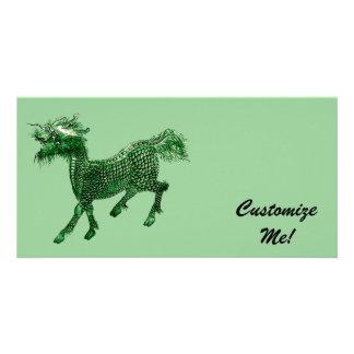 Mythical Beast *Green Dragon Design* Photo Card
