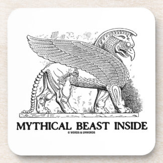 Mythical Beast Inside (Griffin / Gryphon) Coaster