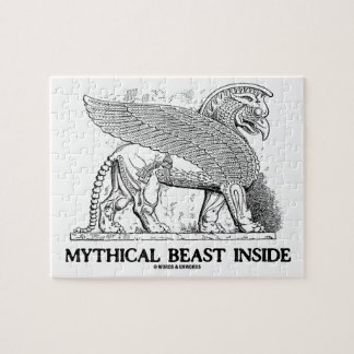Mythical Beast Inside (Griffin / Gryphon) Jigsaw Puzzle