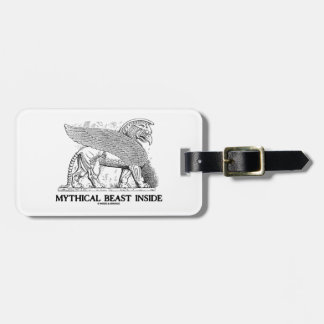 Mythical Beast Inside (Griffin / Gryphon) Luggage Tag