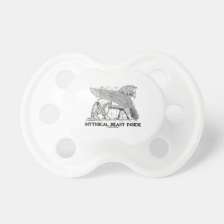 Mythical Beast Inside (Griffin / Gryphon) Pacifier