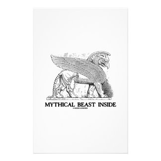 Mythical Beast Inside (Griffin / Gryphon) Stationery