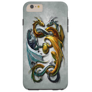 Mythical Celtic Dragons Fantasy Tattoo Tough iPhone 6 Plus Case