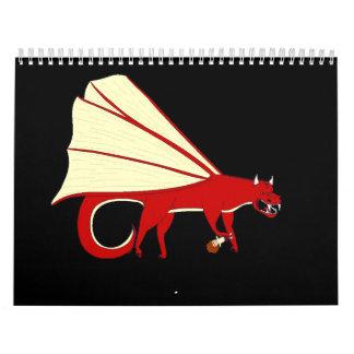 Mythical Creature Calender Calendar