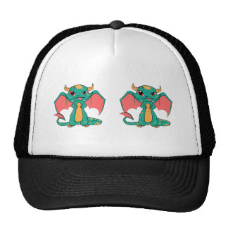 Mythical Dragon with Wings Hat