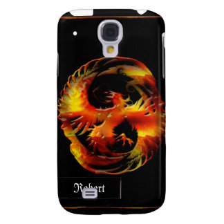 Mythical Flaming Phoenix iPhone3G Cover Galaxy S4 Case