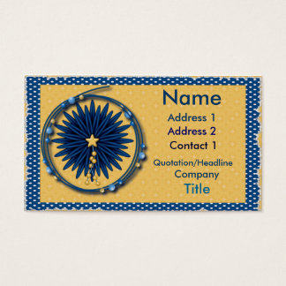 Mythical floral business card