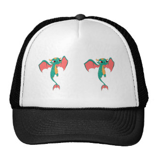 Mythical Flying Dragon Trucker Hat