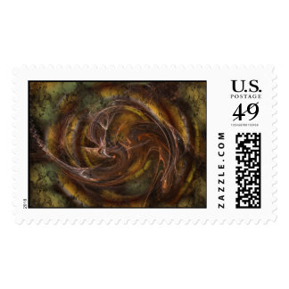 Mythical Forest Postage Stamp