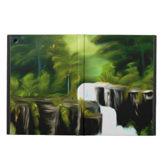 Mythical Green Fantasy Falls Case For iPad Air