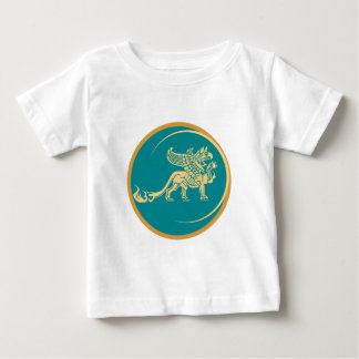Mythical Gryphon Seal Baby T-Shirt