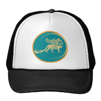 Mythical Gryphon Seal Hats