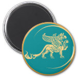 Mythical Gryphon Seal Magnets