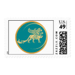 Mythical Gryphon Seal Stamp