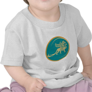 Mythical Gryphon Seal Tee Shirt