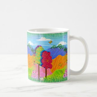 Mythical Landscape on Coffee/Tea Mug