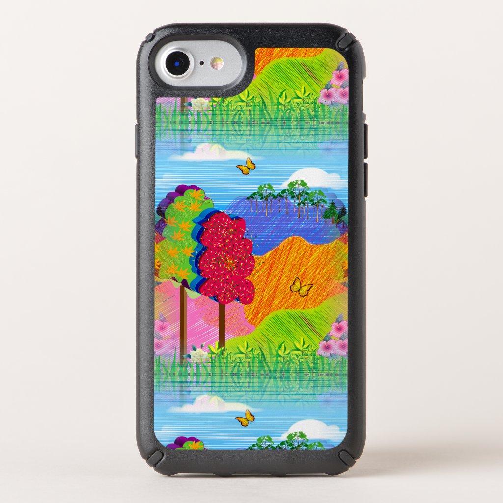 Mythical Landscape on Speck Presidio iPhone 7 Case