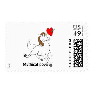 Mythical Love! U.S. Postage Stamp