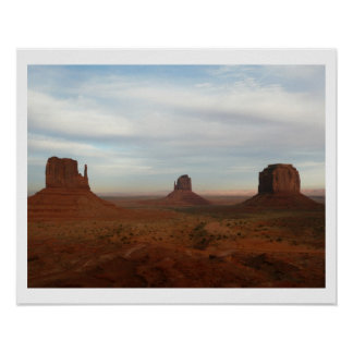 Mythical Monument Valley Poster