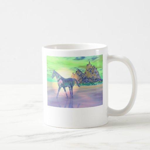 Mythical Mountain Classic White Coffee Mug