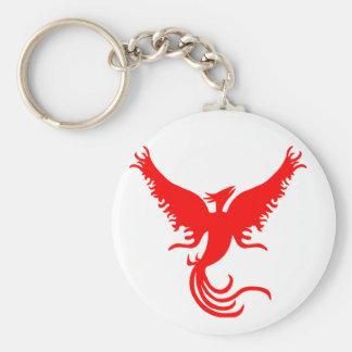 Mythical Phoenix Bird. Keychain