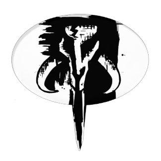 Mythical Skull Cake Topper