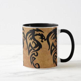 Mythical Tribal Dragon, Year of the Dragon Design Mug
