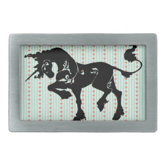 Mythical Unicorn Rectangular Belt Buckle