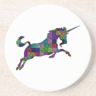 Mythical Unicorn Drink Coaster