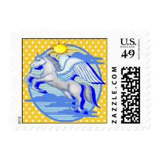 Mythical Winged Horse Postage