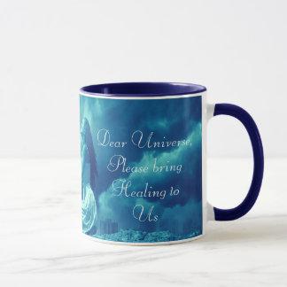 Mythical Woman Sending out Prayers to the Universe Mug