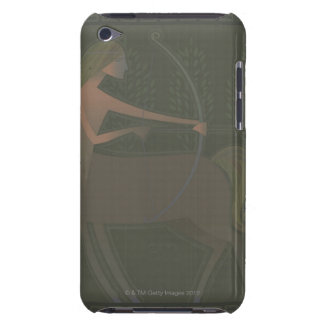 Mythological character of a woman with the body barely there iPod cover