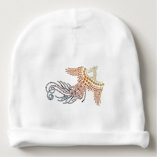 Mythological Fire Bird Baby Beanie