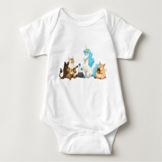Mythological Jug Band Baby Bodysuit