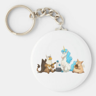 Mythological Jug Band Keychain