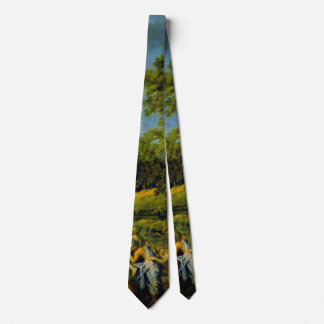 Mythological Landscape 1649 Neck Tie