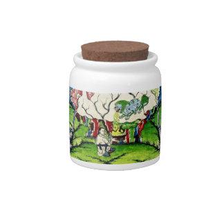 Mythological Lion Candy Jar