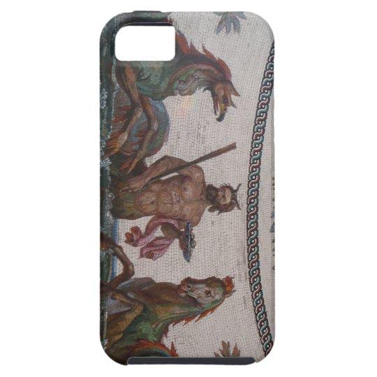 Mythological mosaic sea monster case for iPhone5