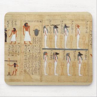 Mythological papyrus of Imenemsaouf Mouse Pad