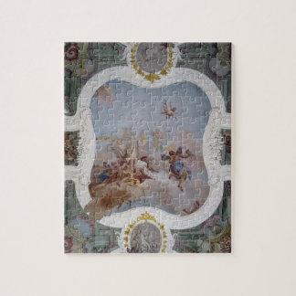 Mythological Scene with the Zodiac (fresco) Jigsaw Puzzles