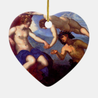 Mythological Venus Ceramic Ornament