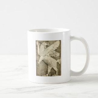 Mythological Winged Figure Coffee Mugs