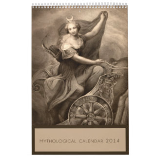 Mythology 2014 Calendar