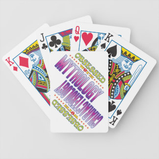 Mythology 2 Obsessed Bicycle Playing Cards