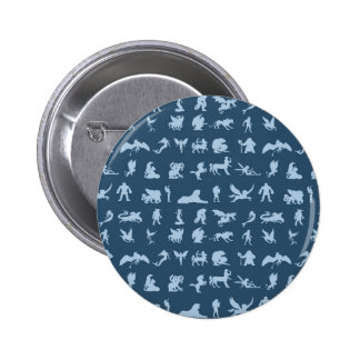 Mythology Creatures 2 Inch Round Button