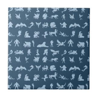 Mythology Creatures Ceramic Tile