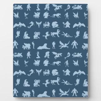 Mythology Creatures Plaque