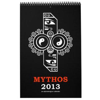 Mythos 2013 Calendar by Alphadesigner