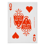 Mythos Astarte Queen of Hearts Poster