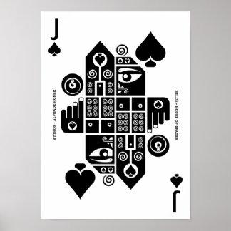 Mythos Belus Jack of Spades Poster